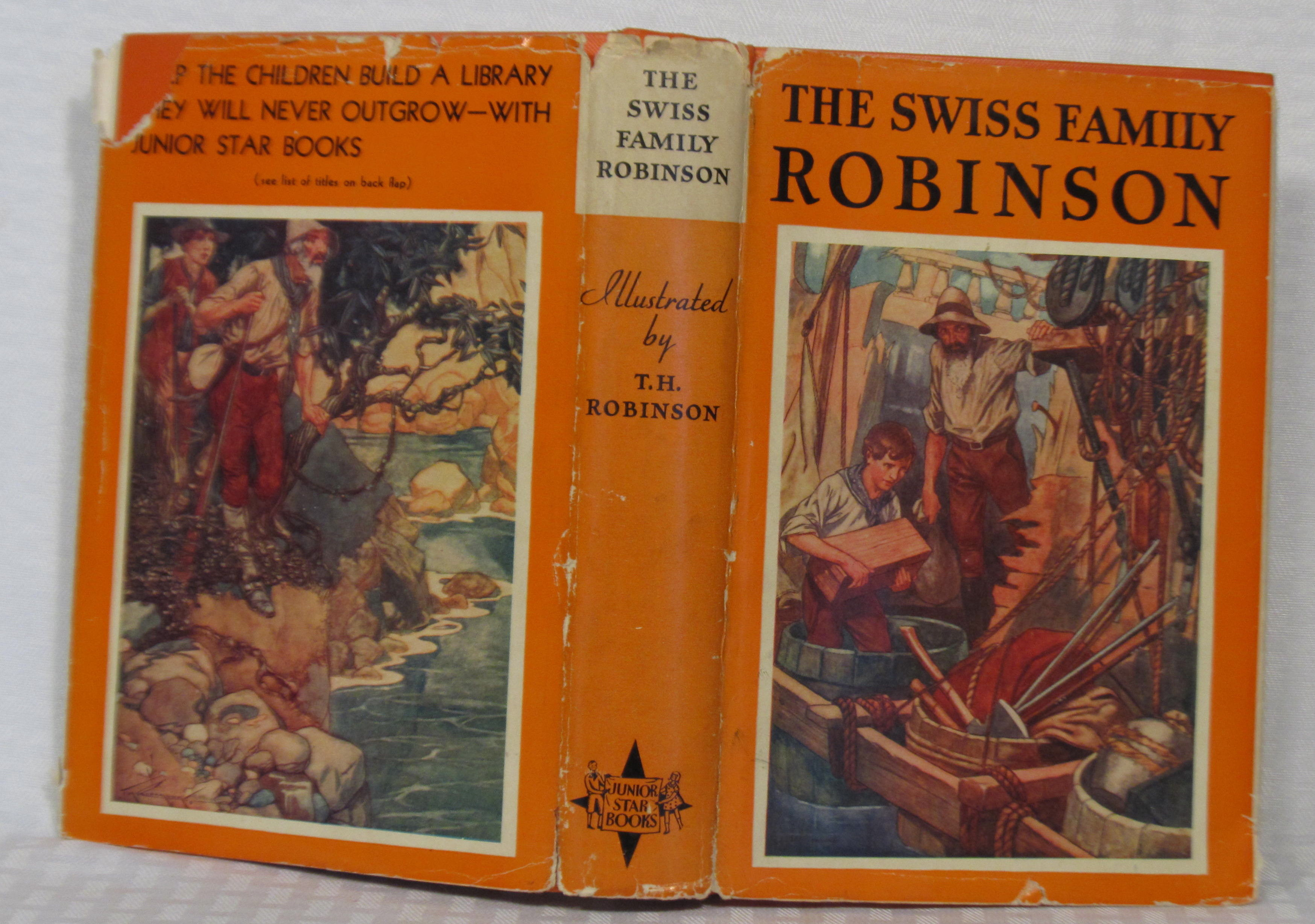 the swiss family robinson book report Kenneth matthiesen st george, ks i am  'i ain't that country' i wrote a book about,  swiss family robinson magnificent seven.